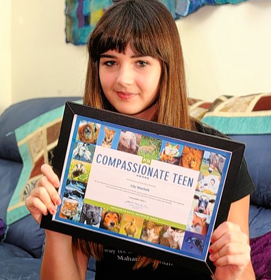 Read the story of Lily Norfolk, an UK teenager who has won an award for pushing a ban on dissection.