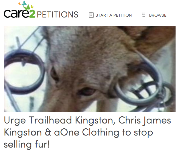 Petition against fur