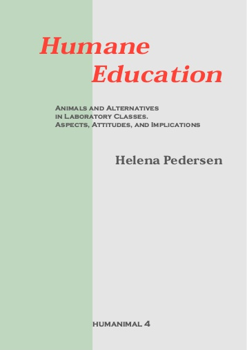 Pedersen - Humane Education